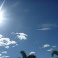 宇宙を感じさせる空の青1